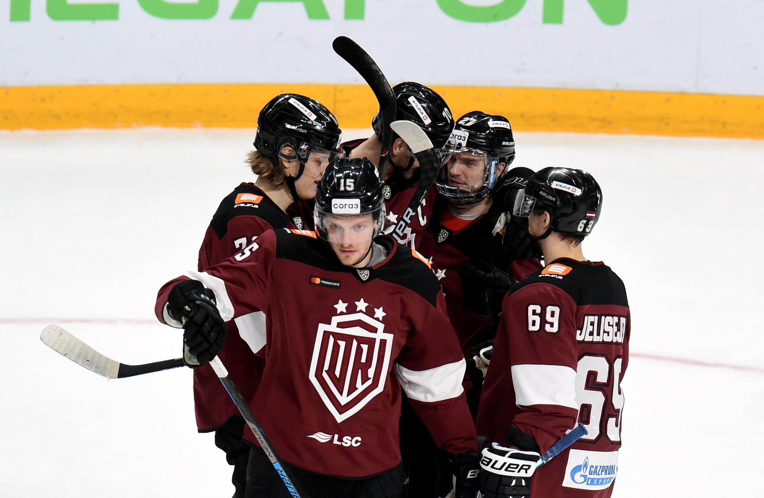 """Ko """"Dinamo"""" var iemācīties no citām KHL vidusmēra komandām?"""