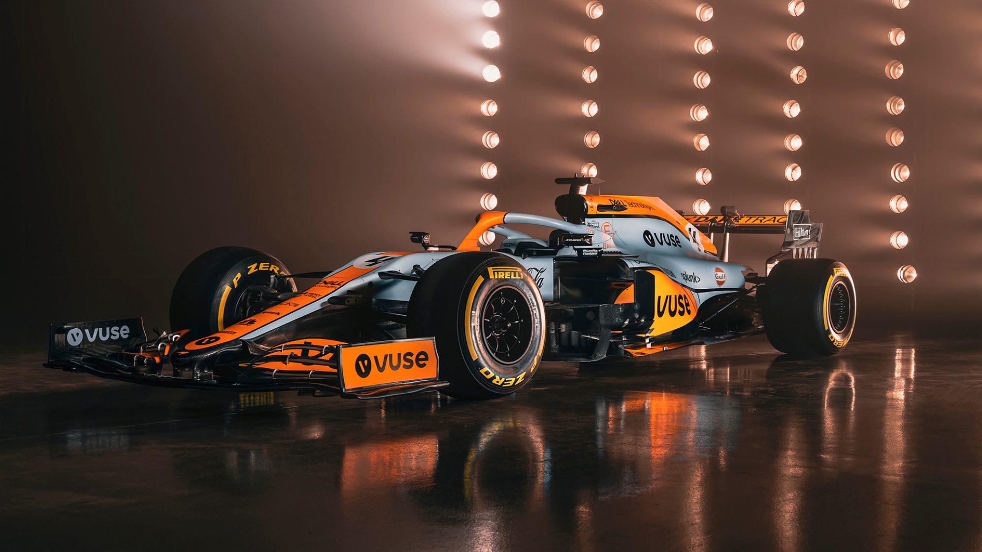 """McLaren"" uz Monako posmu izveido īpaša dizaina formulas"
