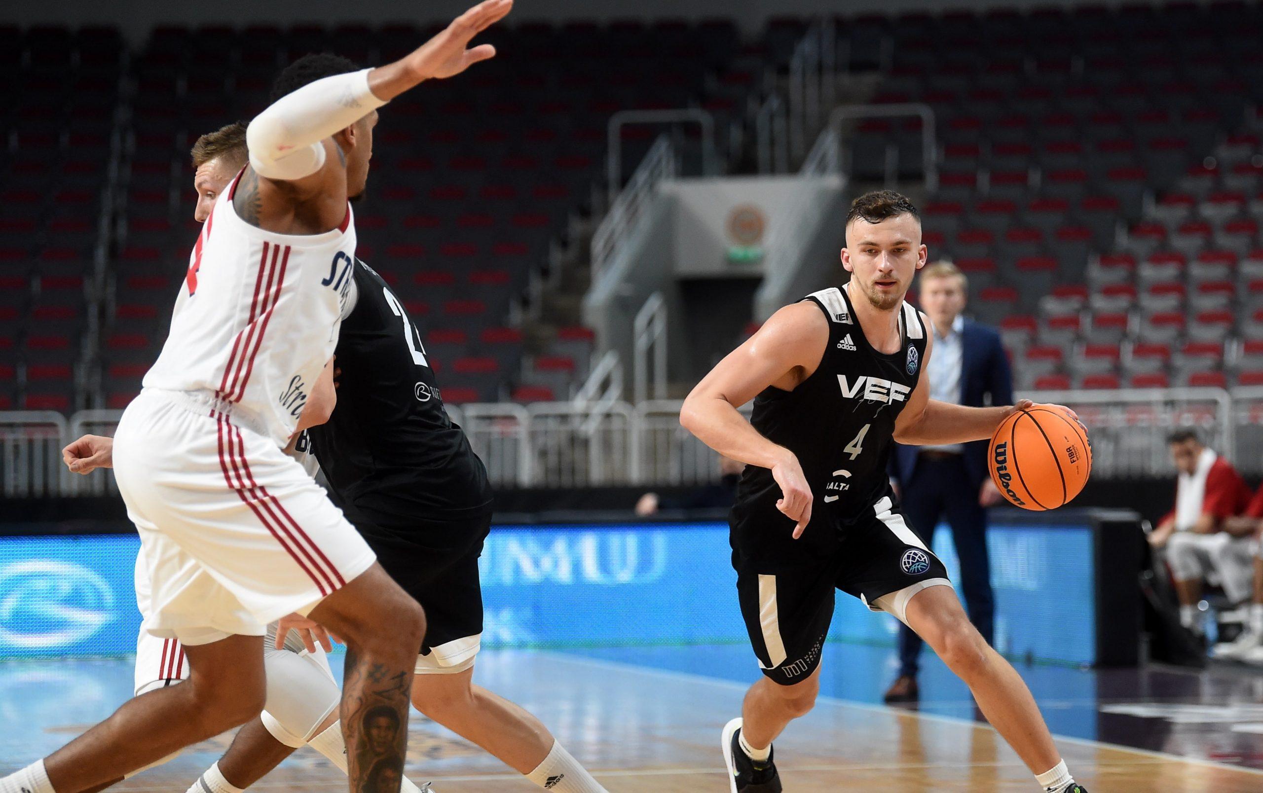 VEF triumfē turnīrā Lietuvā, volejbola izlase iekļūst astotdaļfinālā – aizvadītās dienas aktualitātes