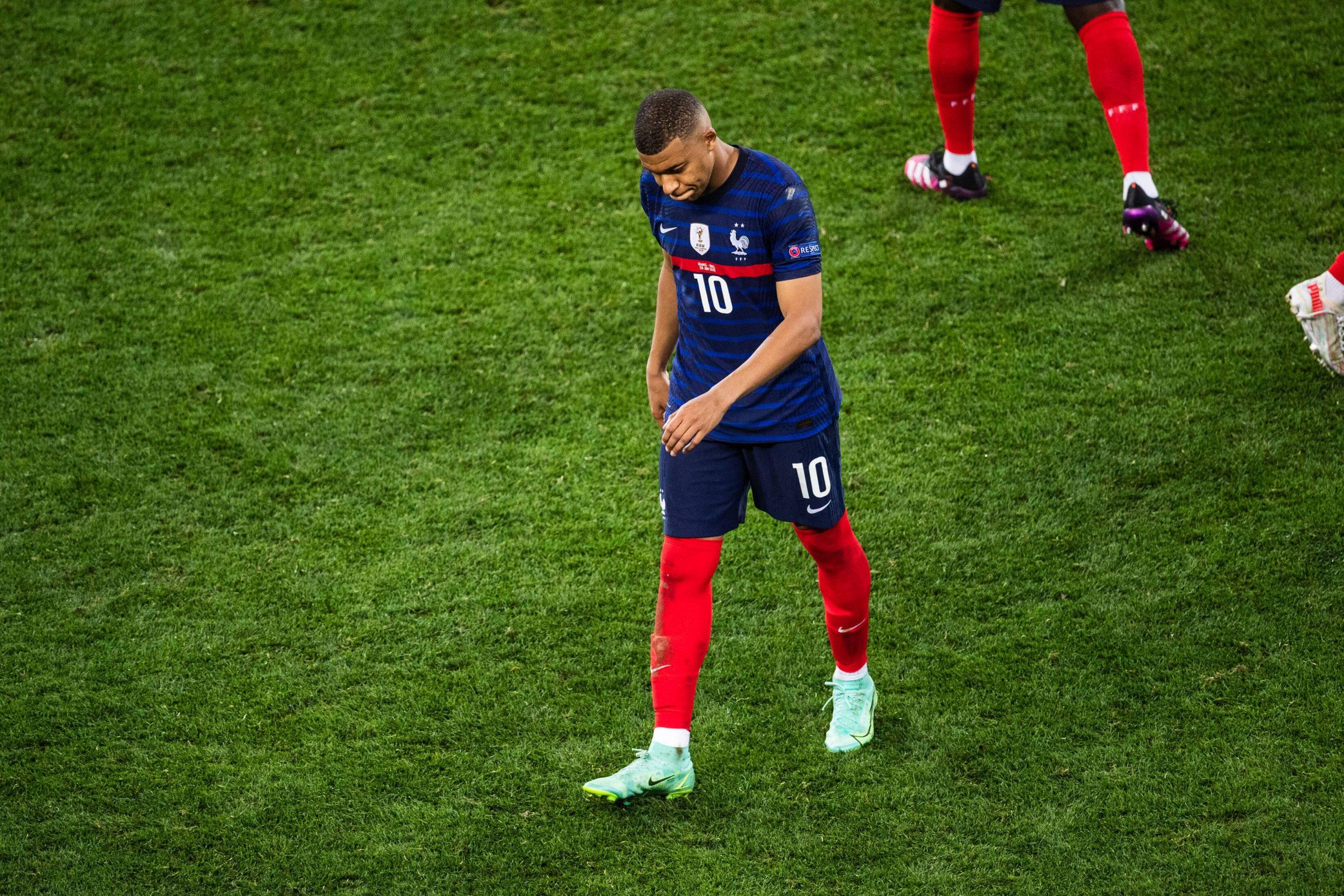 Mbapē apsver paņemt pārtraukumu no Francijas izlases